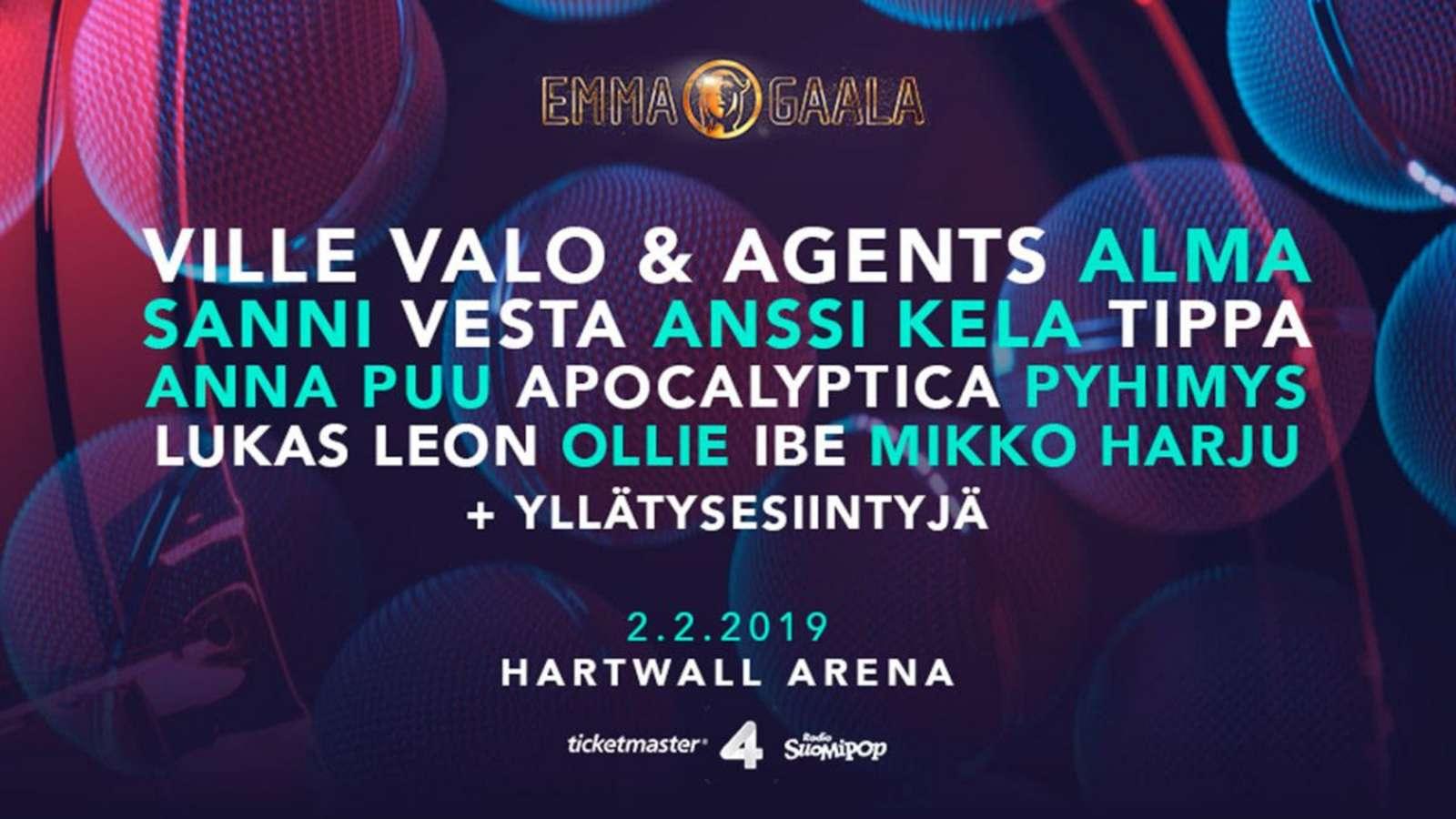 Emma Gaala 2021 Voittajat